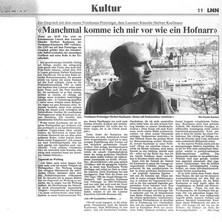 Max Zingg - 22. April 1988
