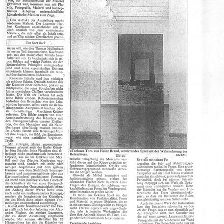Kurt Beck - 28. Mai 1986