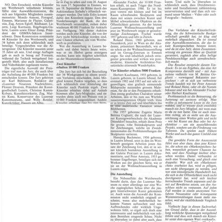 Niklaus Oberholzer - 21. März 1987