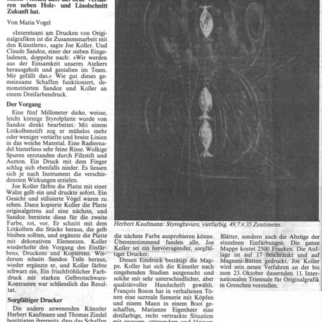 Maria Vogel - 5. Oktober 1988