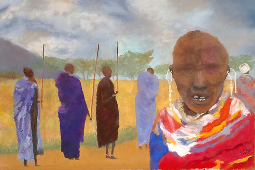Tunganak te Maasai