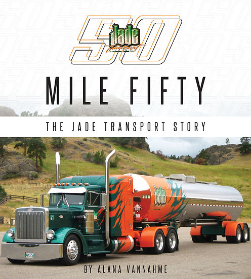 "Jade Transport ""MILE FIFTY"" Book"