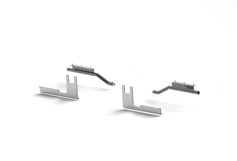 Bracket Kit: Composite Half Fenders