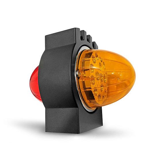 Kenworth Billet Turn Signal - Matte Black