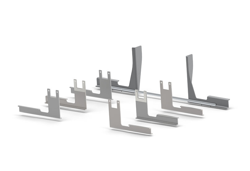 Bracket Kit: Single Axle Fiberglass Fenders