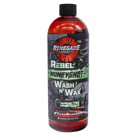 Rebel Money Shot Wash N Wax Soap