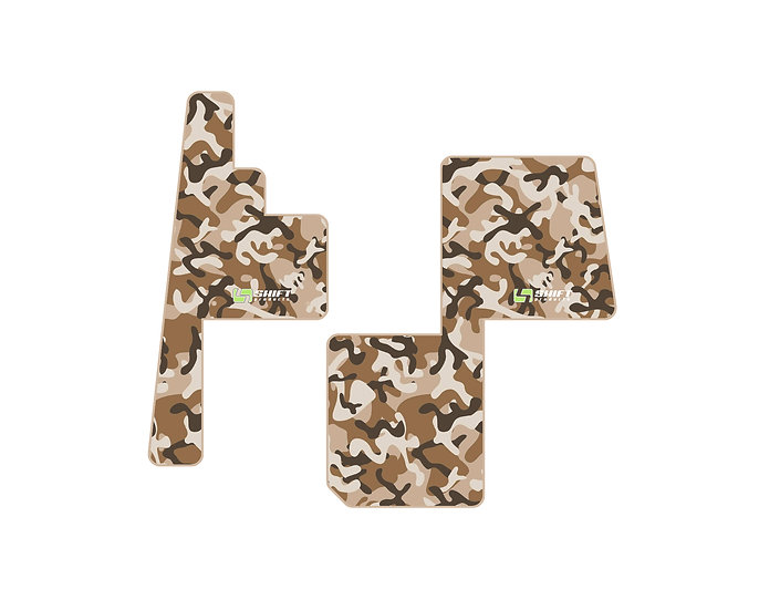 Camo Carpet Floor Mats