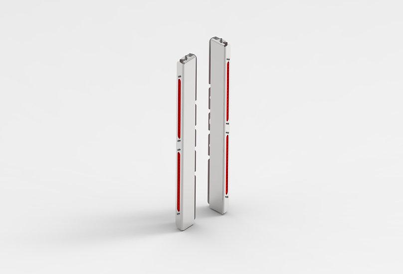 Backlit Air Cleaner Light Bars - Rear