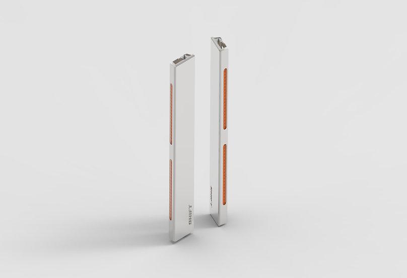 Backlit Air Cleaner Light Bars - Front