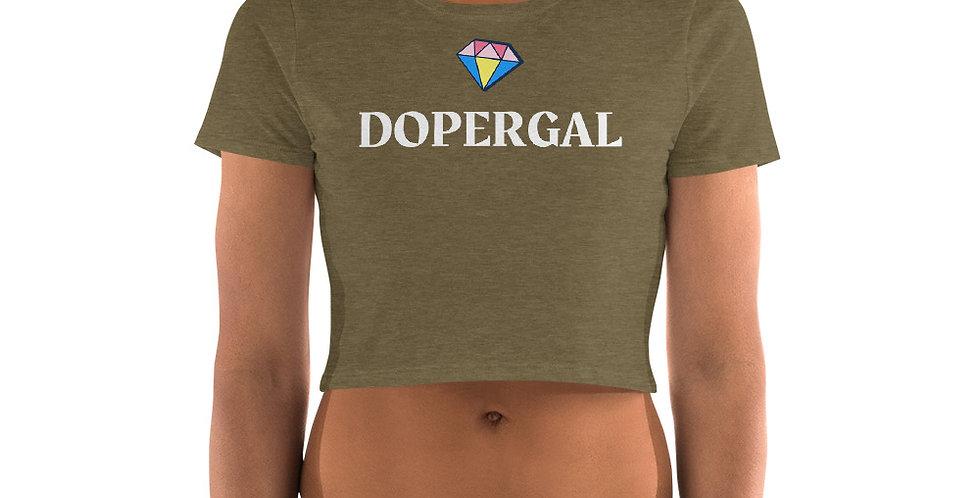 Dopergal Women's Crop Tee
