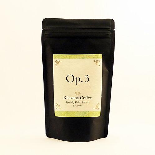 """Khazana Coffee """"Op.3"""""""