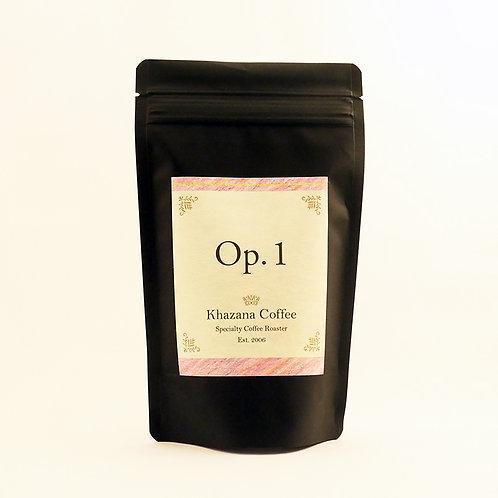 """Khazana Coffee """"Op.1"""""""