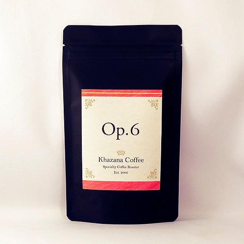 """Khazana Coffee """"Op.6"""""""