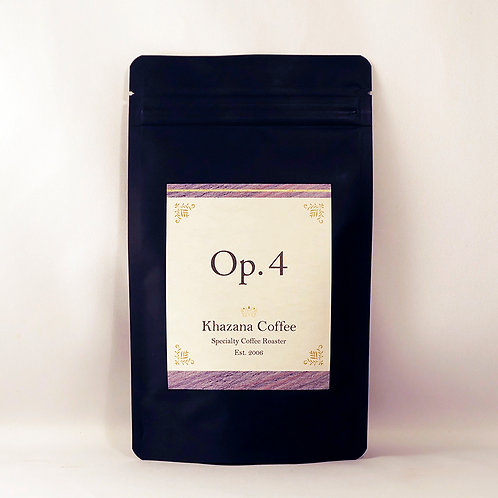 """Khazana Coffee """"Op.4"""""""