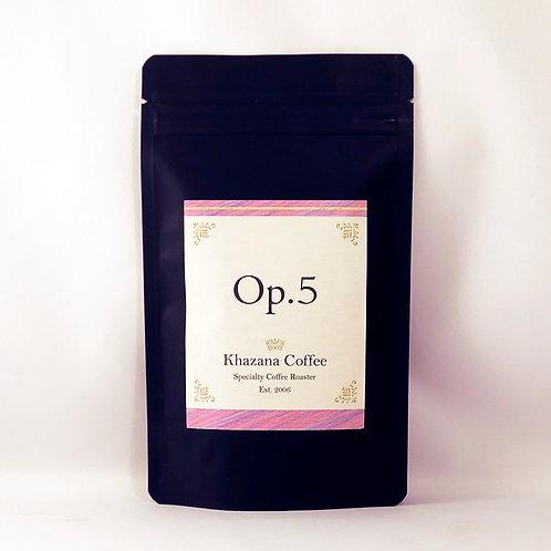 """Khazana Coffee """"Op.5"""""""
