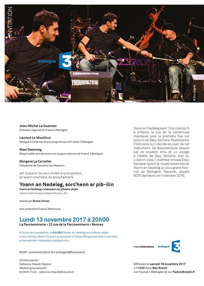 Teulfilm Frañs 3 Breizh 2017