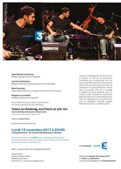 France 3 Bretagne's documentary