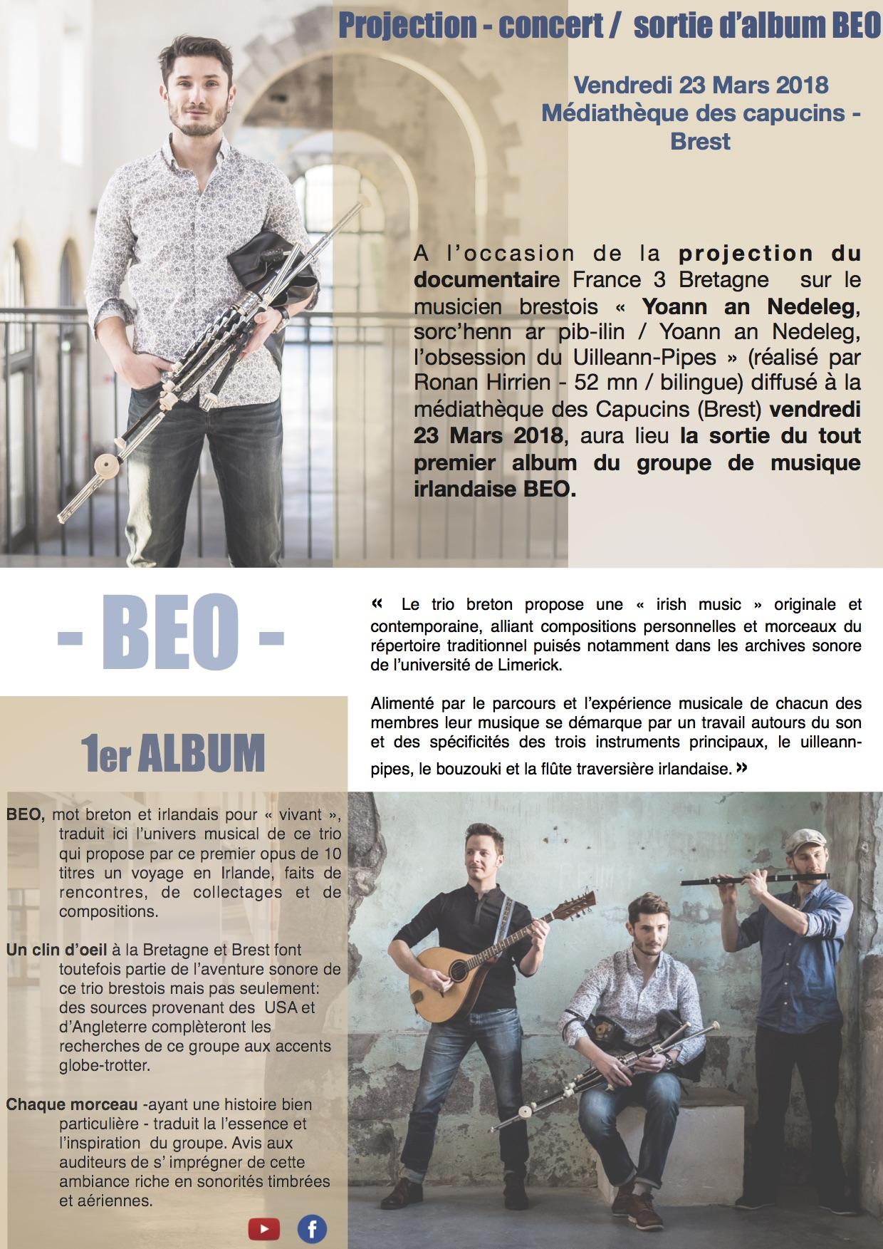 Sortie d'album BEO