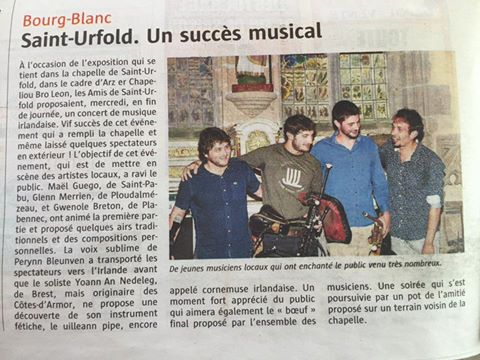 Article Ouest-France 08.2016