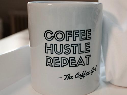 Coffee Hustle Repeat Mug