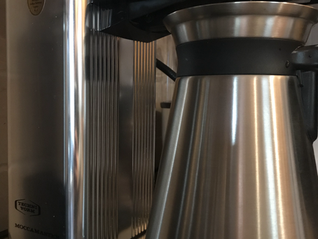Brewing with the Moccamaster