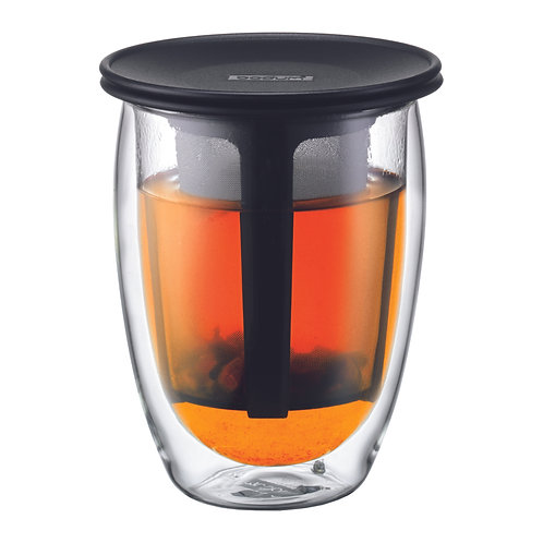 Tea for One - Glass & Strainer