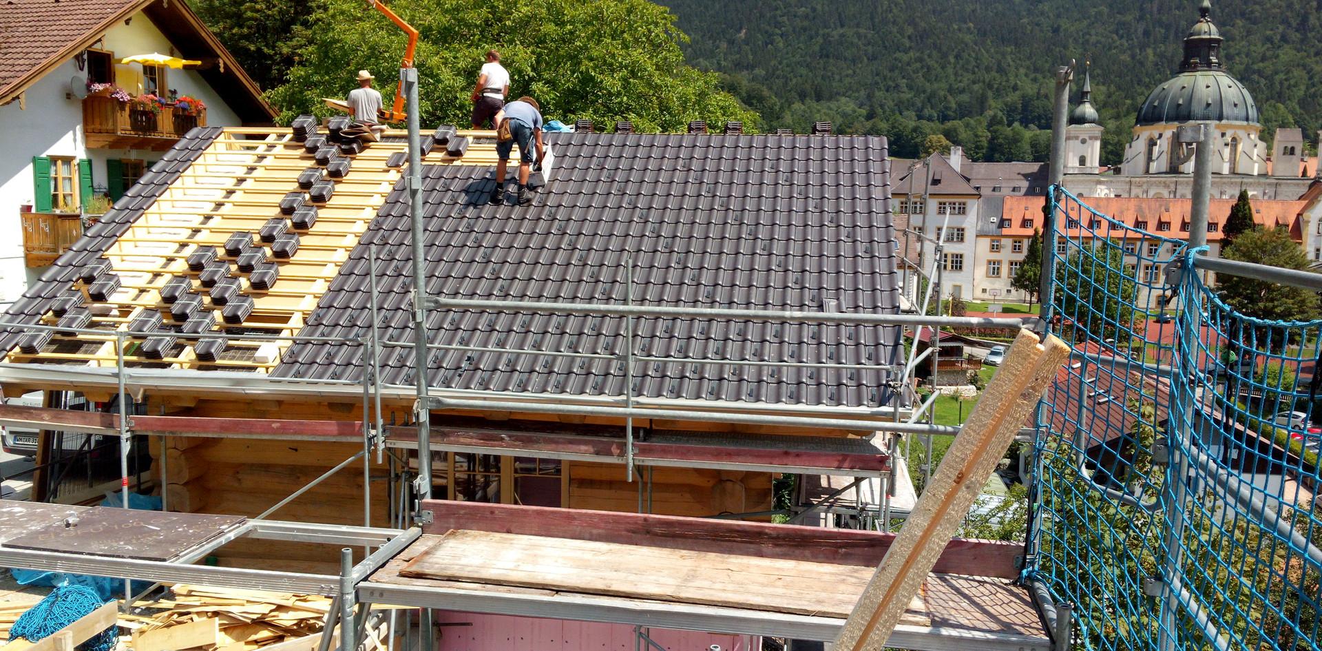Dacheindeckung | Gebrüder Eicher GmbH