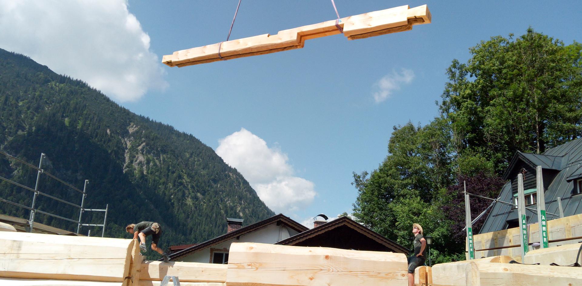 Blockhaus Aufbau | Artifex GmbH & Co KG