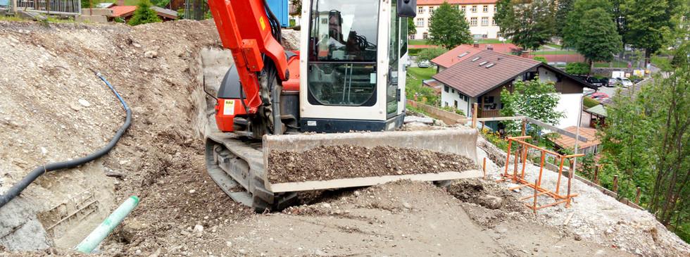 Erdarbeiten | Gebrüder Eicher GmbH