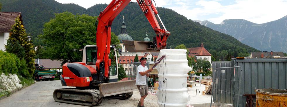 Einbau Hebepumpe | Gebrüder Eicher GmbH