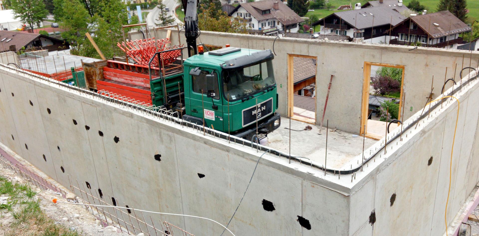 Untergeschoss | Gebrüder Eicher GmbH