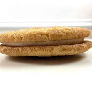 Snickerdoodle Stuffed Cookie