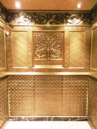 The Osborne elevator cab