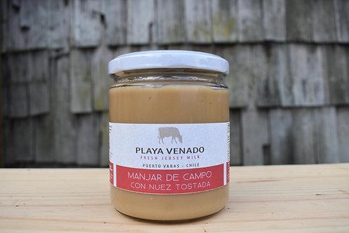 Manjar de Campo con Nuez Tostada 550g
