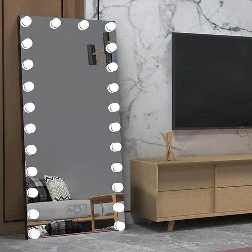 Floor hollywood mirror