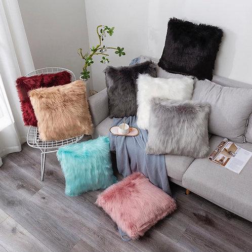 Furry Pillows