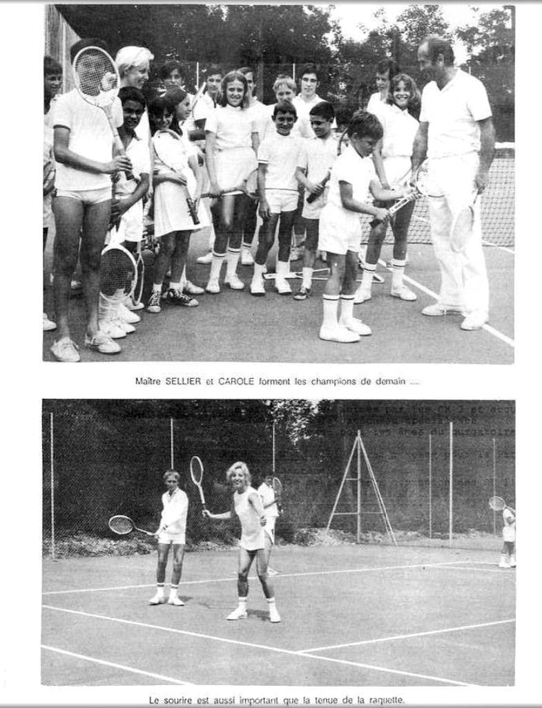 Club et cours de Tennis au Parc