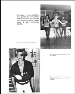 La danse avec Carole et Jean pirate