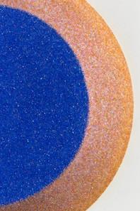 Miroir, 2019 (detail) Polystyrène, verre. Ø 71 x 13,5 cm Unique Courtesy Vincent Beaurin