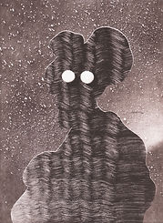 Christian Rex van Minnen Monotype Galerie Julien Cadet