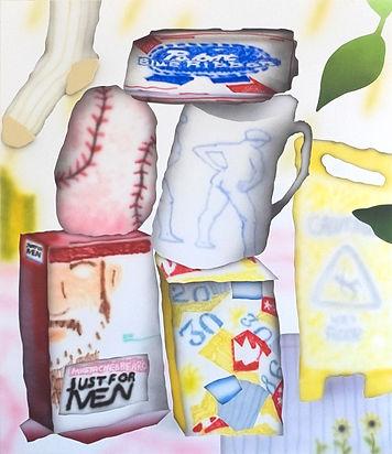 Brandon Lipchik painting Galerie Julien Cadet