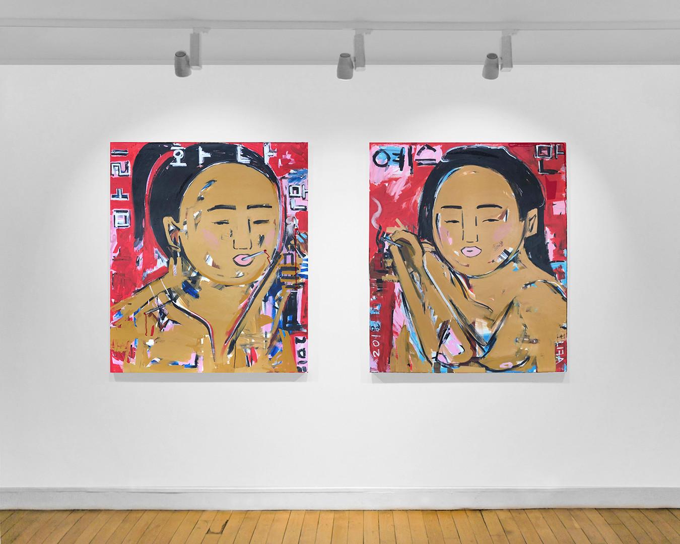 Galerie Julien Cadet Monica Kim Garza Réalisme d'aujourd'hui