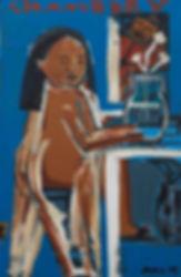Monica Kim Garza painting Galerie Julien Cadet