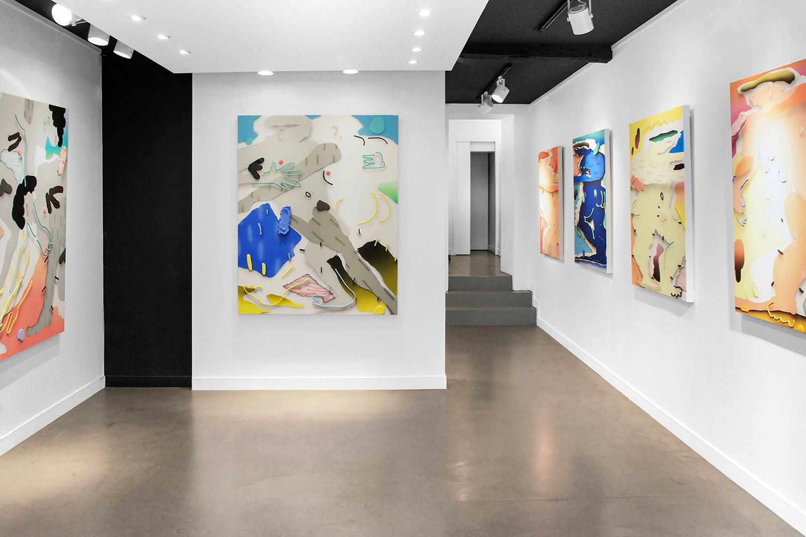 Galerie Julien Cadet Brandon Lipchik Nu digital