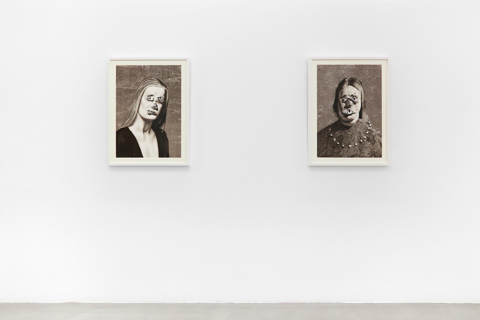 Galerie Julien Cadet Christian Rex van Minnen BLUNT!