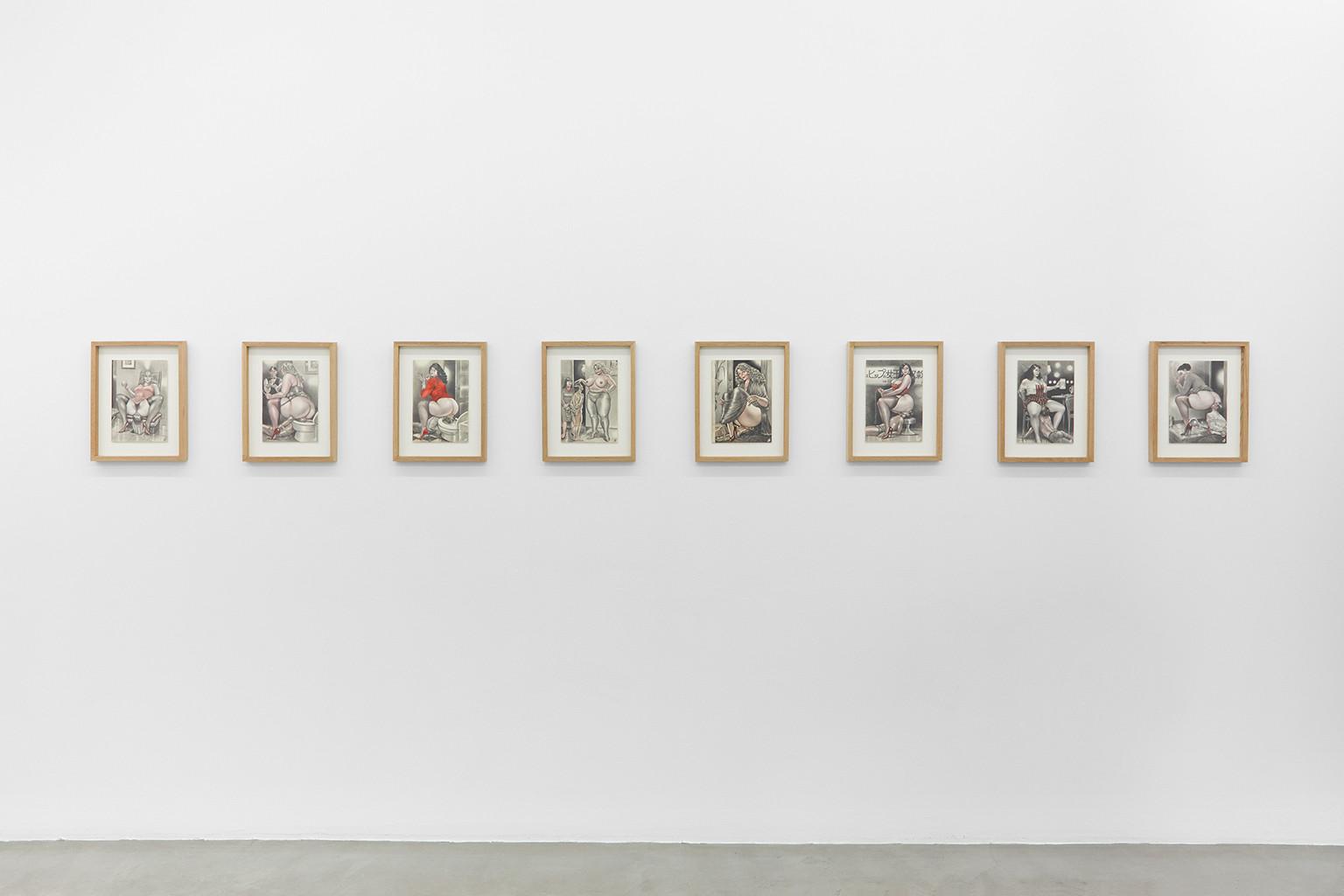 Galerie Julien Cadet Namio Harukawa BLUNT!
