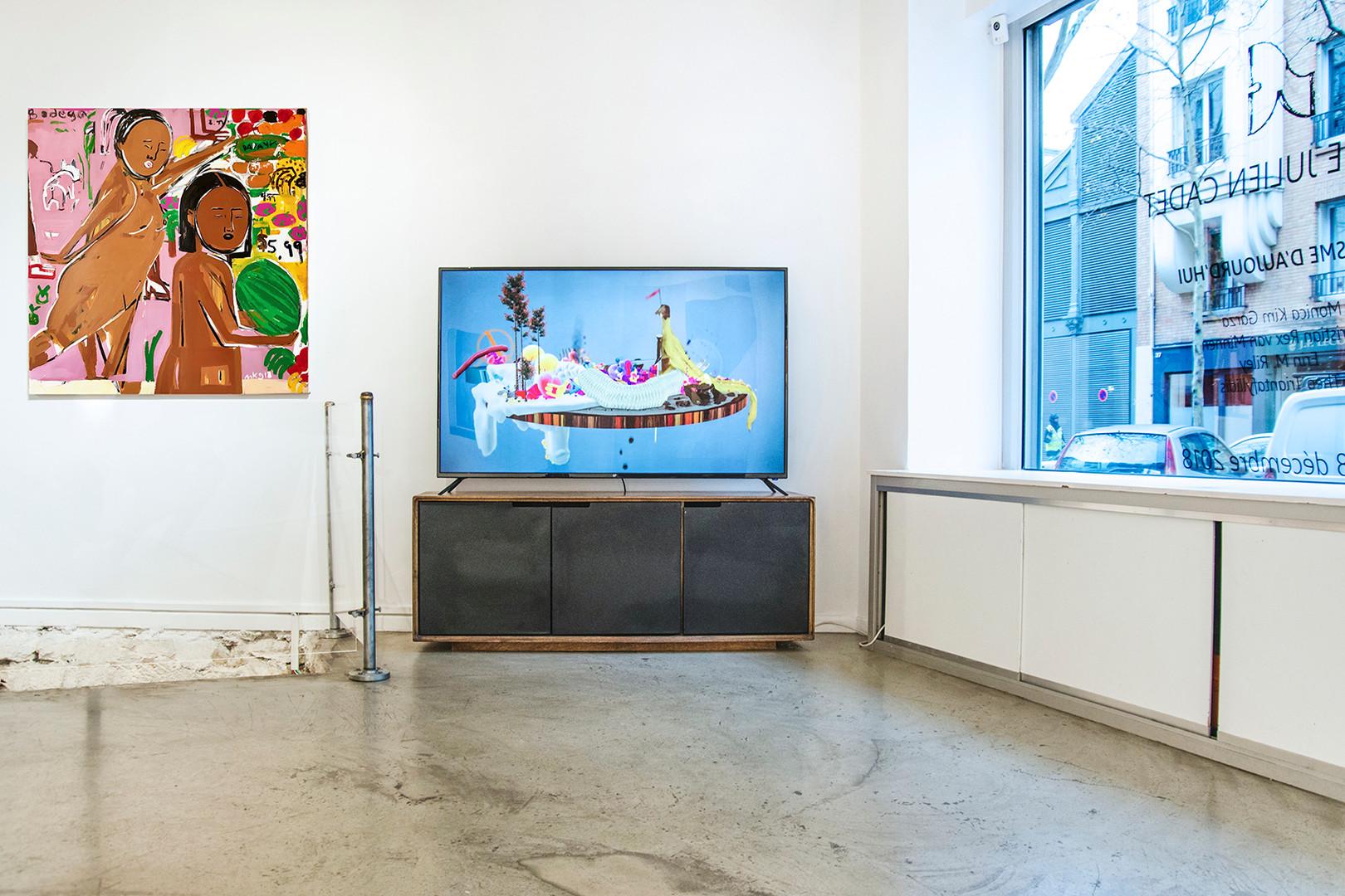 Galerie Julien Cadet Monica Kim Garza, Theo Triantafyllidis Réalisme d'aujourd'hui