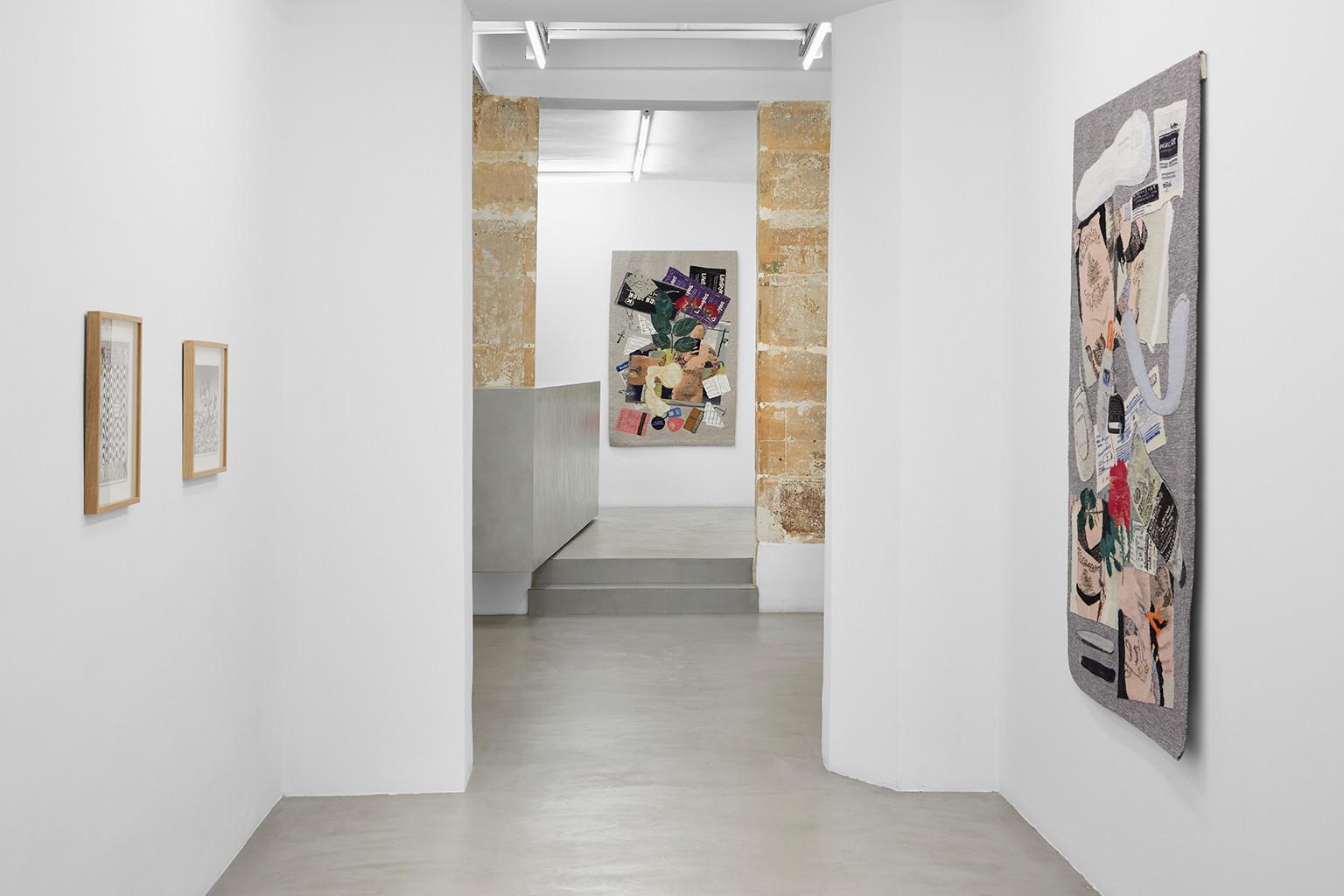 Galerie Julien Cadet Ryan Travis Christian, Erin M. Riley BLUNT!