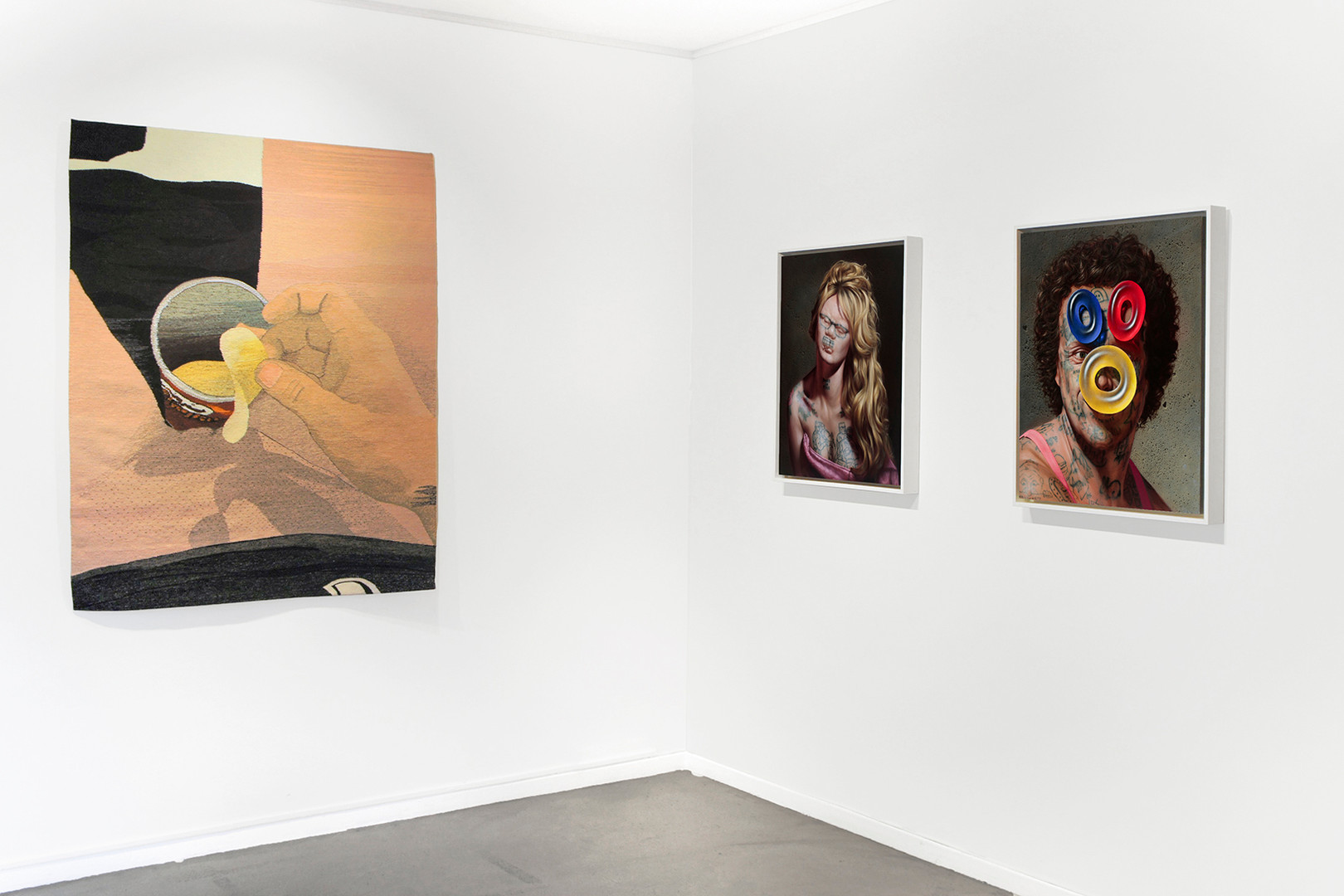 Galerie Julien Cadet Erin M. Riley, Christian Rex van Minnen Réalisme d'aujourd'hui