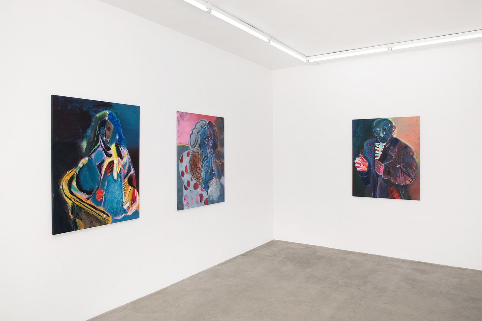 Galerie Julien Cadet Rhys Lee Recent Paintings   ©Credits photo : Thomas Marroni